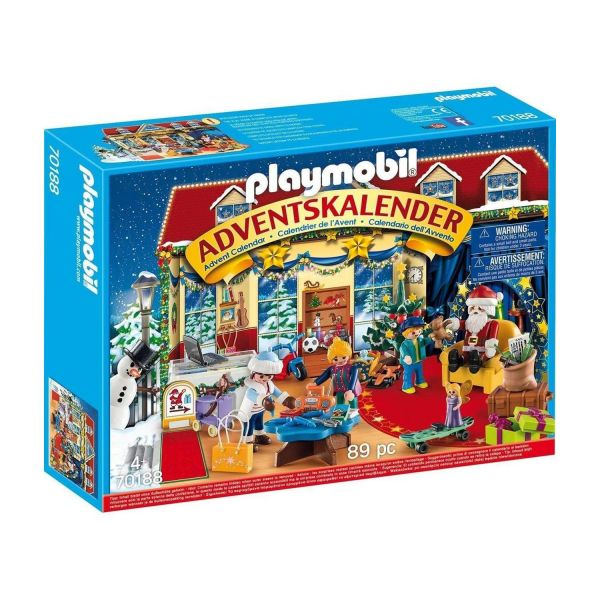 PLAYMOBIL 70188 - Adventskalender - Weihnachten im Spielwarengeschäft, 2019