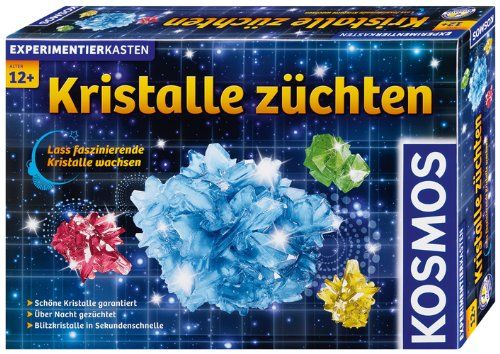 KOSMOS 643522 - Experimentierkasten - Kristalle züchten