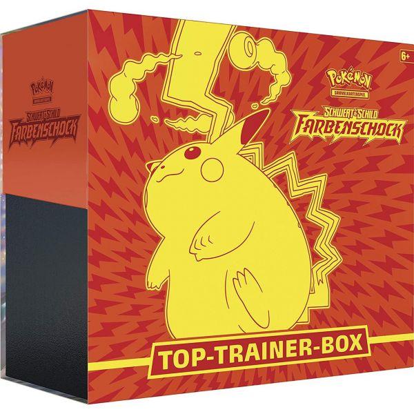 POKÉMON 45230 - Top Trainer Box - Schwert & Schild Farbenschock