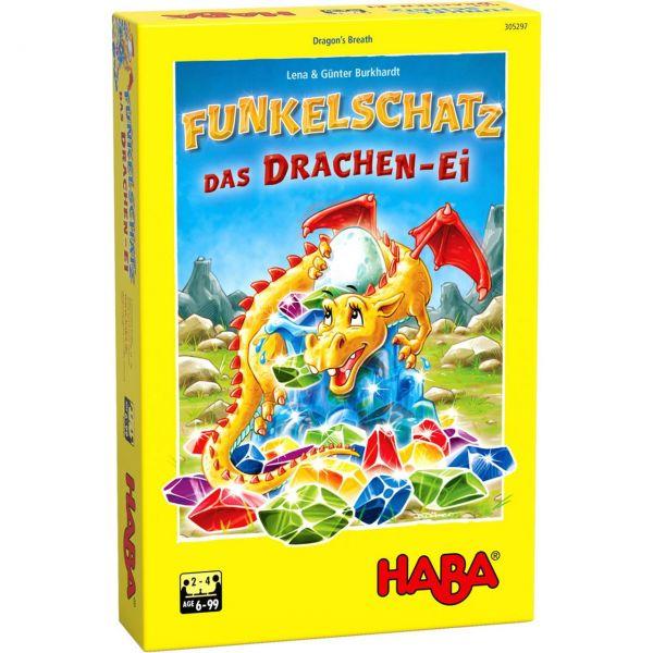 HABA 305297 - Kinderspiel - Funkelschatz, Das Drachen-Ei