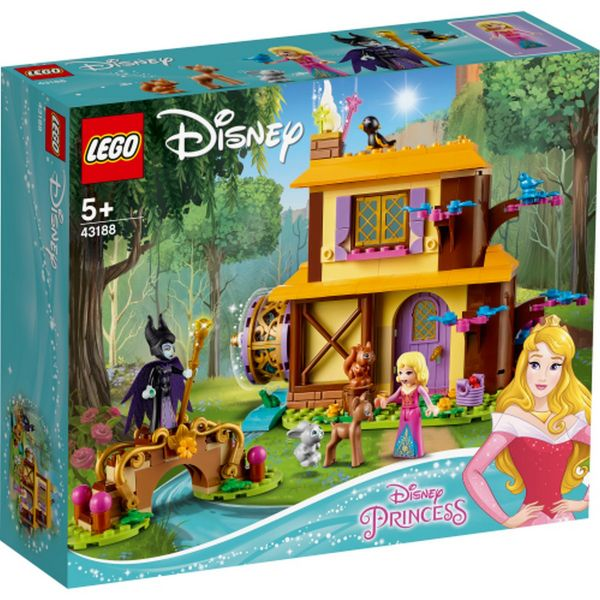 LEGO 43188 - Disney Princess - Auroras Hütte im Wald