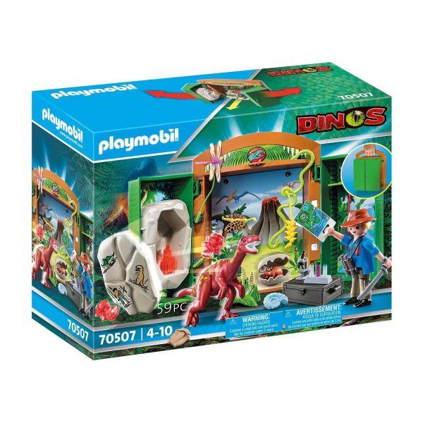 PLAYMOBIL 70507 - Dinos - Spielbox Dinoforscher