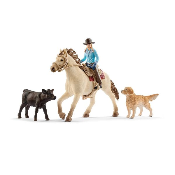 SCHLEICH 42419 - Farm World - Westernreiten