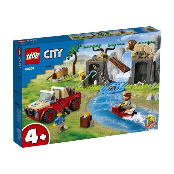 LEGO 60301 - City - Tierrettungs-Geländewagen