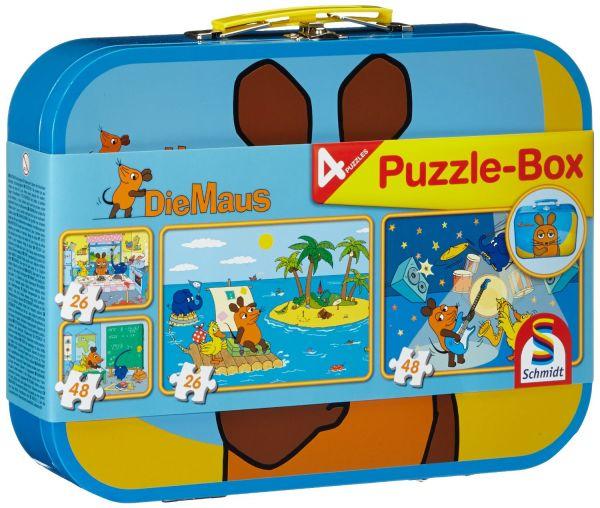 SCHMIDT 55597 - Puzzle Koffer - Die Maus