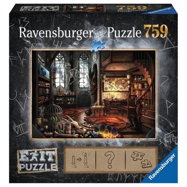 RAVENSBURGER 19954 - Puzzle - Exit 5: Im Drachenlabor, 759 Teile