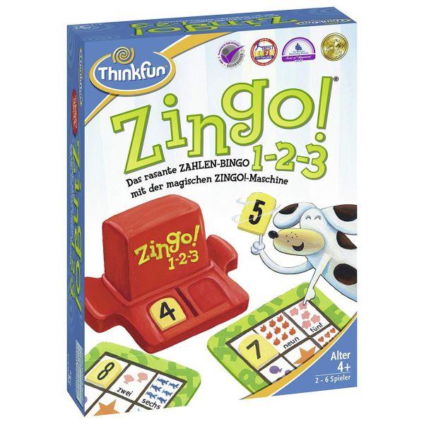 ThinkFun 76352 - Familienspiel - Zingo 1-2-3 Spiel