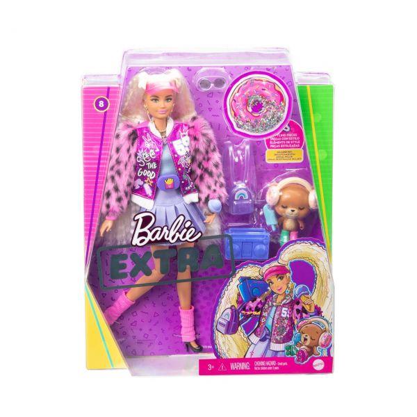 MATTEL GYJ77 - Barbie - Extra Puppe mit blonden Zöpfen