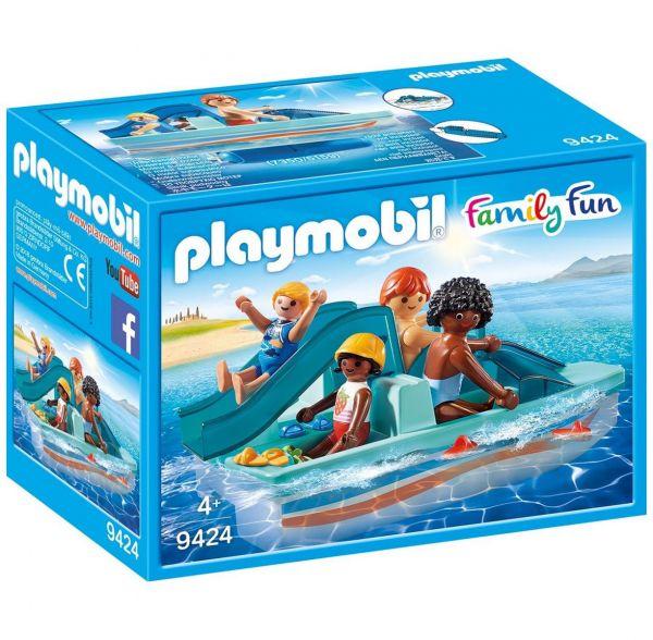 PLAYMOBIL 9424 - Family Fun Ferienvilla - Tretboot
