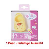 Zapf Creation 831809 - BABY born® - Holiday Schuhe mit Pins, 43cm