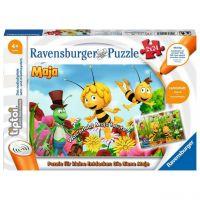 RAVENSBURGER 00047 - tiptoi Puzzle - Biene Maja Puzzle, 2 x 24 Teile