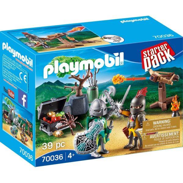 PLAYMOBIL 70036 - Starter Pack - Kampf um den Ritterschatz