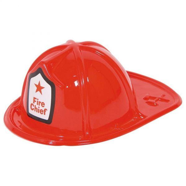"FOLAT 21558 - Geburtstag & Party - Feuerwehrhelm ""Fire Chief"", rot"