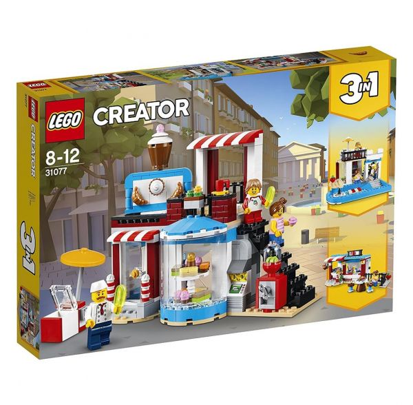LEGO 31077 - Creator - Modulares Zuckerhaus