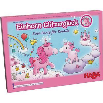 HABA 302767 - Sammelspiel - Einhorn Glitzerglück - Eine Party für Rosalie