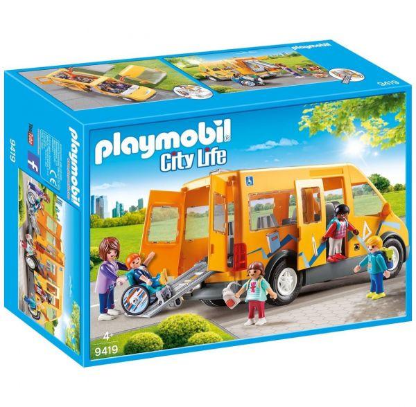 PLAYMOBIL 9419 - City Life Schule - Schulbus