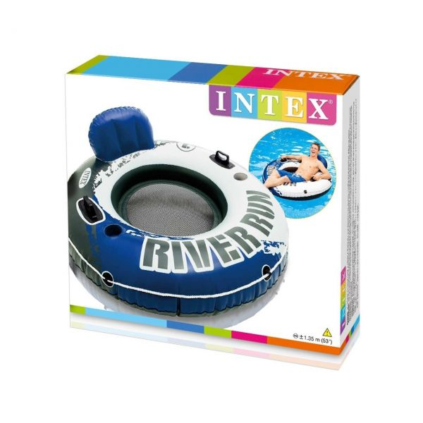 INTEX 58825EU - Aufblasbarer Sitzreifen River Run, Sport Lounge, 53 Zoll