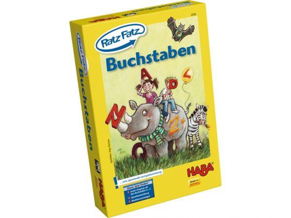 HABA 4536 - Lernspiel - Ratz-Fatz - Buchstaben