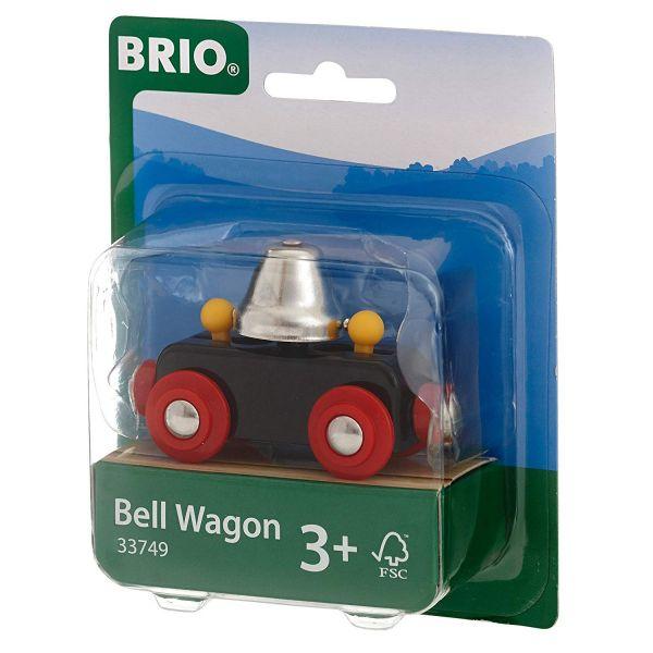 BRIO 33749 - Bahn - Glockenwagen