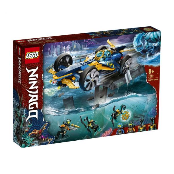 LEGO 71752 - NINJAGO® - Ninja-Unterwasserspeeder