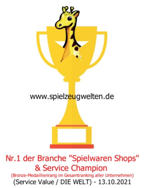 Auszeichnung N1 1 der Spielwaren Branche