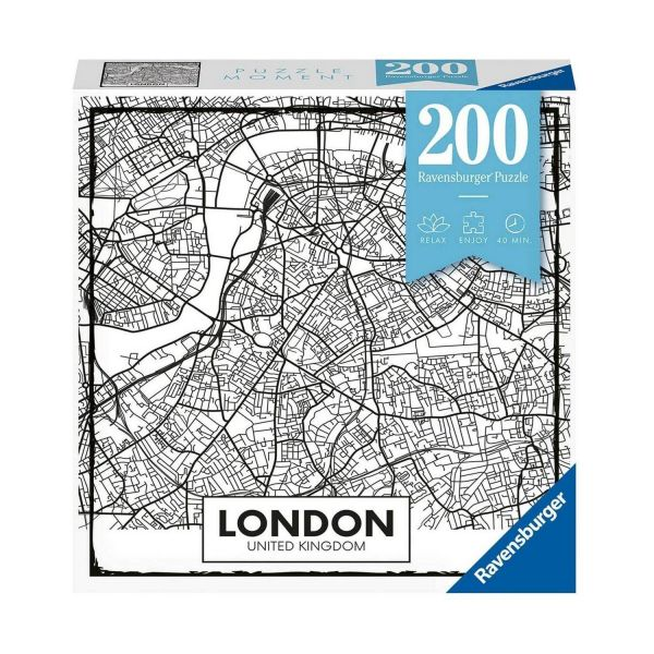 RAVENSBURGER 12963 - Erwachsenenpuzzle - Big City Life London, 200 Teile