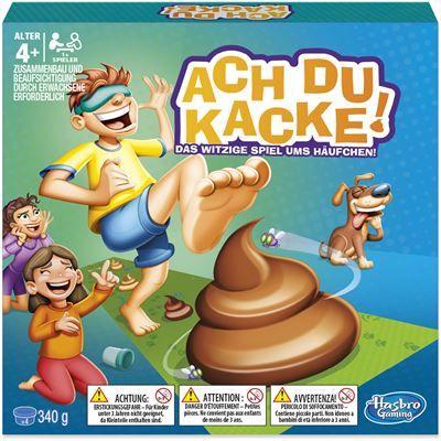 HASBRO E24891 - Vorschulspiel - Ach du Kacke!