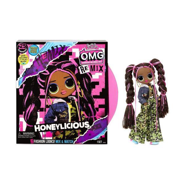 MGA 567264E7C - L.O.L. Surprise O.M.G. REMIX - Puppe Pop-Musik Honeylicious