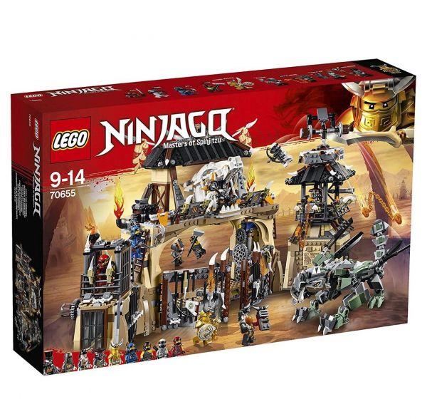 LEGO 70655 - Ninjago - Drachengrube