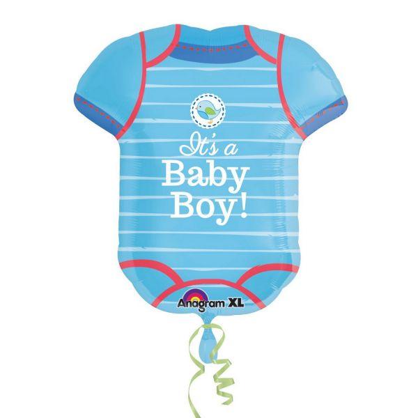 AMSCAN 30912 - Folienballon - Its a baby boy, 60 cm