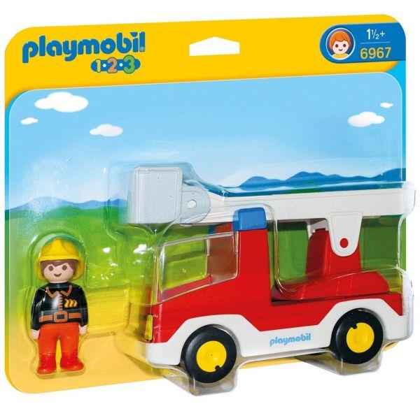 PLAYMOBIL 6967 - 1.2.3 - Feuerwehrleiterfahrzeug