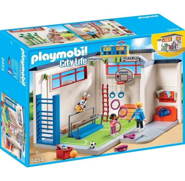 PLAYMOBIL 9454 - City Life Schule - Turnhalle