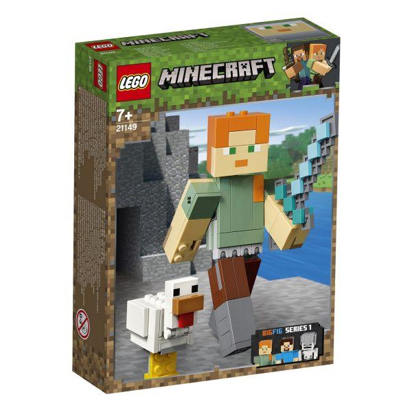 LEGO 21149 - Minecraft - Minecraft™-BigFig Alex mit Huhn