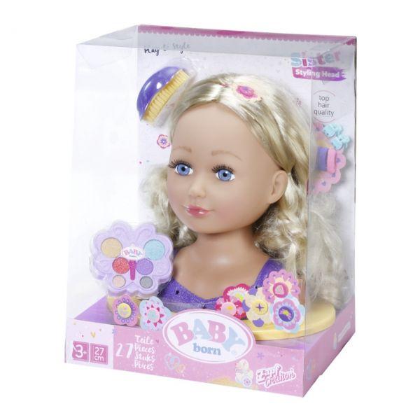 Zapf Creation 828694 - BABY born® Sister - Styling Head