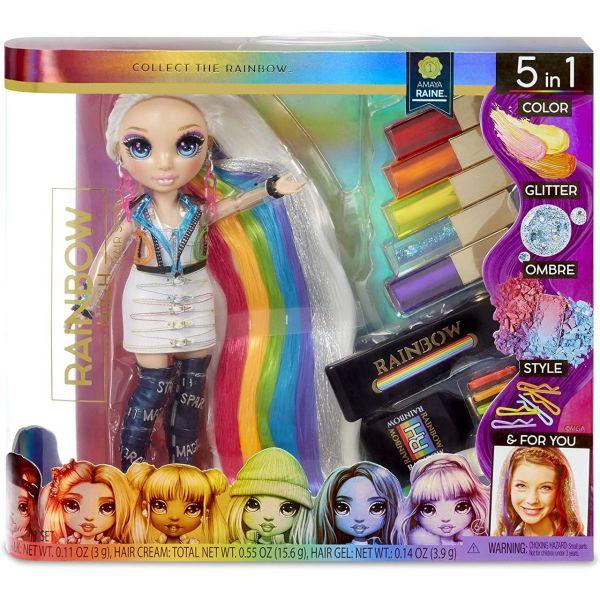 MGA 569329E7C - Rainbow High - Hair Studio mit Amaya Raine Puppe