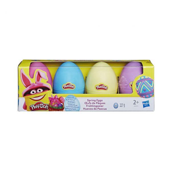 HASBRO 42573 - Play-Doh - Frühlingseier, 4er-Pack