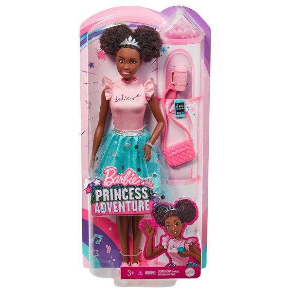 MATTEL GML70 - Barbie - Prinzessinnen Abenteuer Puppe Nikki