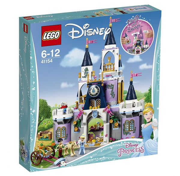 LEGO 41154 - Disney - Cinderellas Traumschloss
