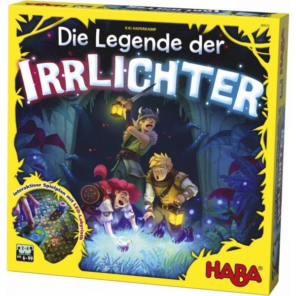 HABA 304121 - Gesellschaftsspiel - Die Legende der Irrlichter