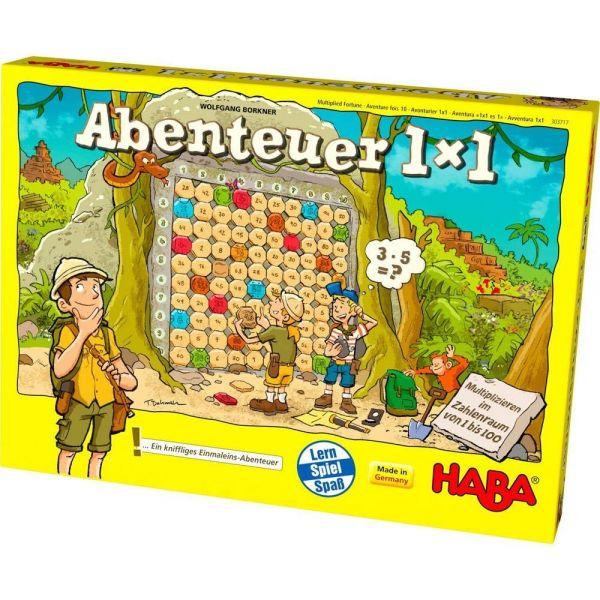 HABA 303717 - Lernspiel - Abenteuer 1x1