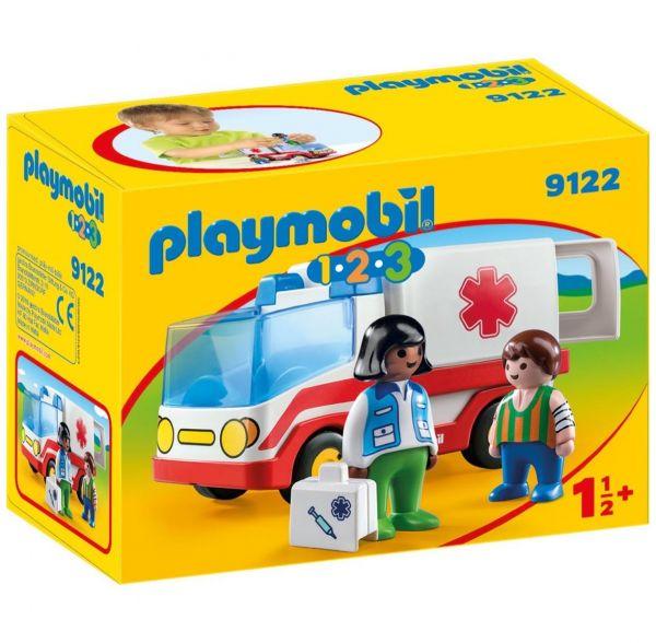 PLAYMOBIL 9122 - 1.2.3 - Rettungswagen