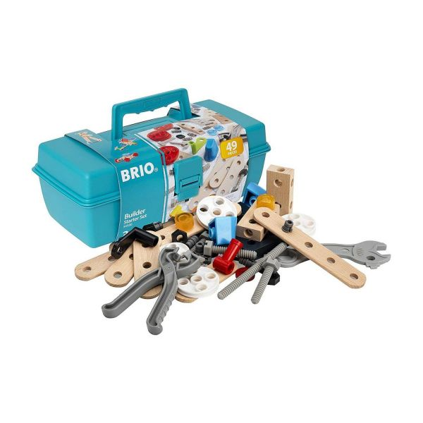 BRIO 34586 - Builder - Builder Box, 48-teilig