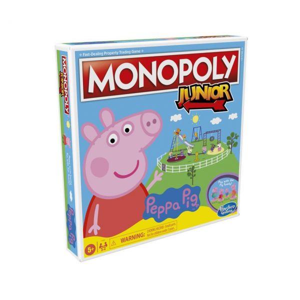 HASBRO F1656 - Kinderspiel - Monopoly Junior: Peppa Pig
