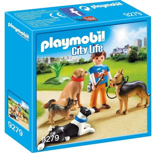 PLAYMOBIL 9279 - City Life Tierhotel - Hundetrainer