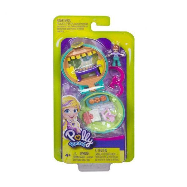 MATTEL GKJ43 - Polly Pocket - Mini-Schatulle Lilas Gartenparty