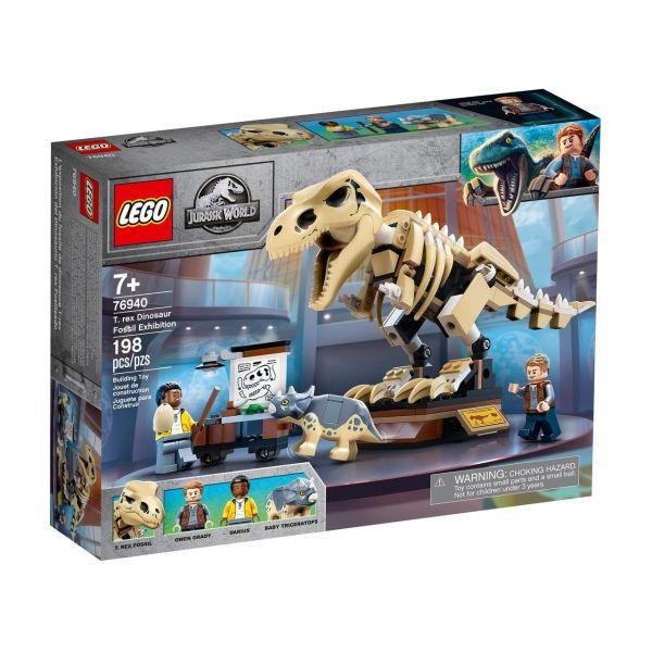 LEGO 76940 - Jurassic World™ - T. Rex-Skelett in der Fossilienausstellung