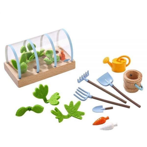 HABA 303013 - Little Friends - Gemüsegarten, Spielset