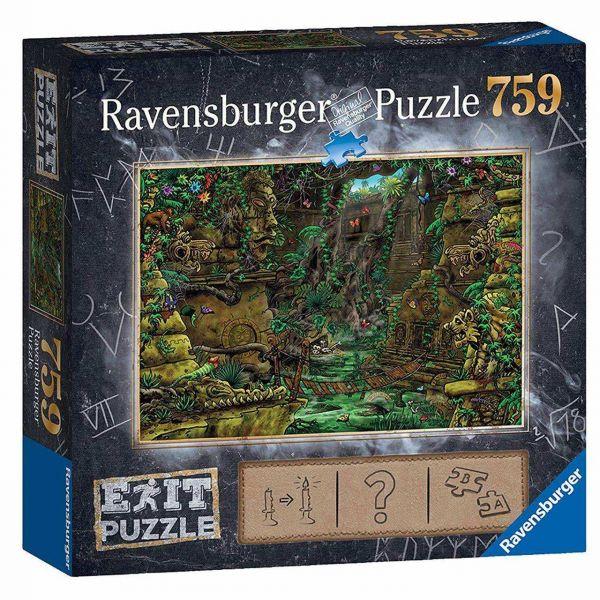 RAVENSBURGER 19951 - Puzzle - Exit 2: Die Tempelanlage, 759 Teile