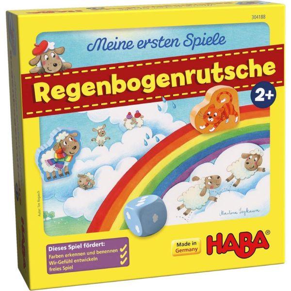 HABA 304188 - Meine ersten Spiele - Regenbogenrutsche