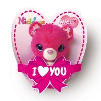 NICI 42770 - Plüschtier - NICIdoos - Valentinstag Bär, 9cm mit Loop